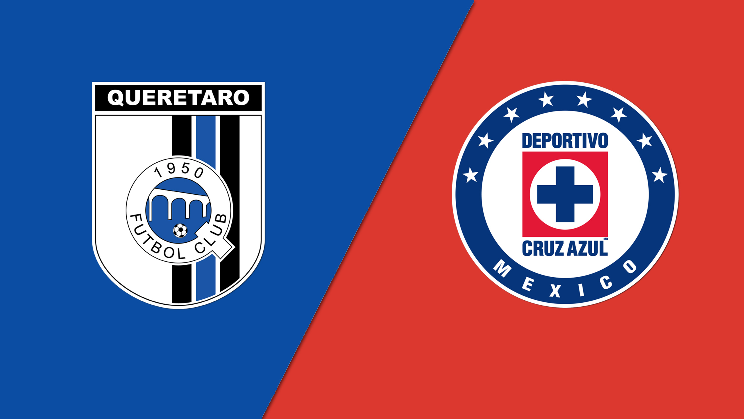 In Spanish - Gallos Blancos de Querétaro vs. Cruz Azul (Jornada 13) (Liga MX)
