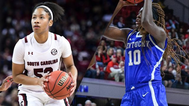 #1 South Carolina vs. #14 Kentucky (W Basketball)