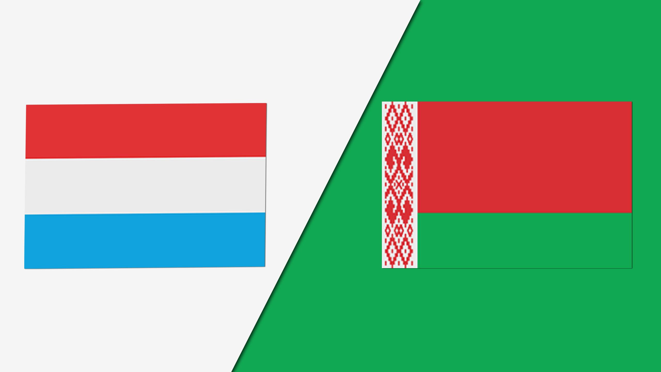 Luxembourg vs. Belarus