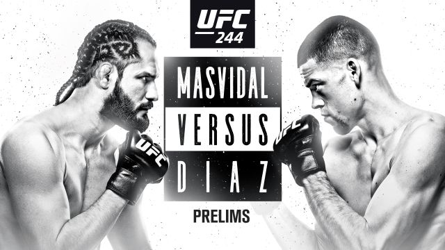 UFC 244: Masvidal vs. Diaz presented by Modelo (Prelims)