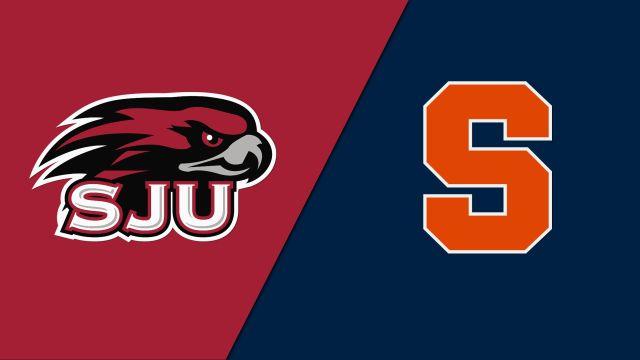 Saint Joseph's vs. Syracuse (Field Hockey)