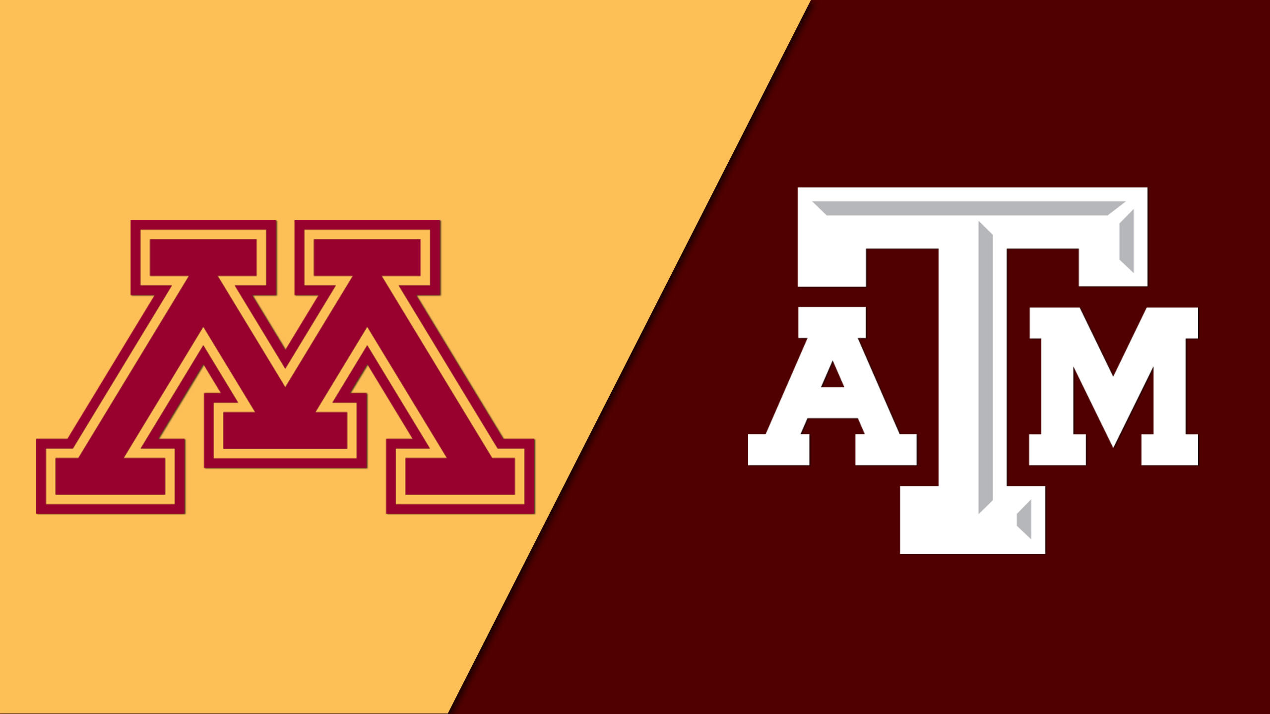 Minnesota vs. Texas A&M (Semifinal #2) (Vancouver Showcase)