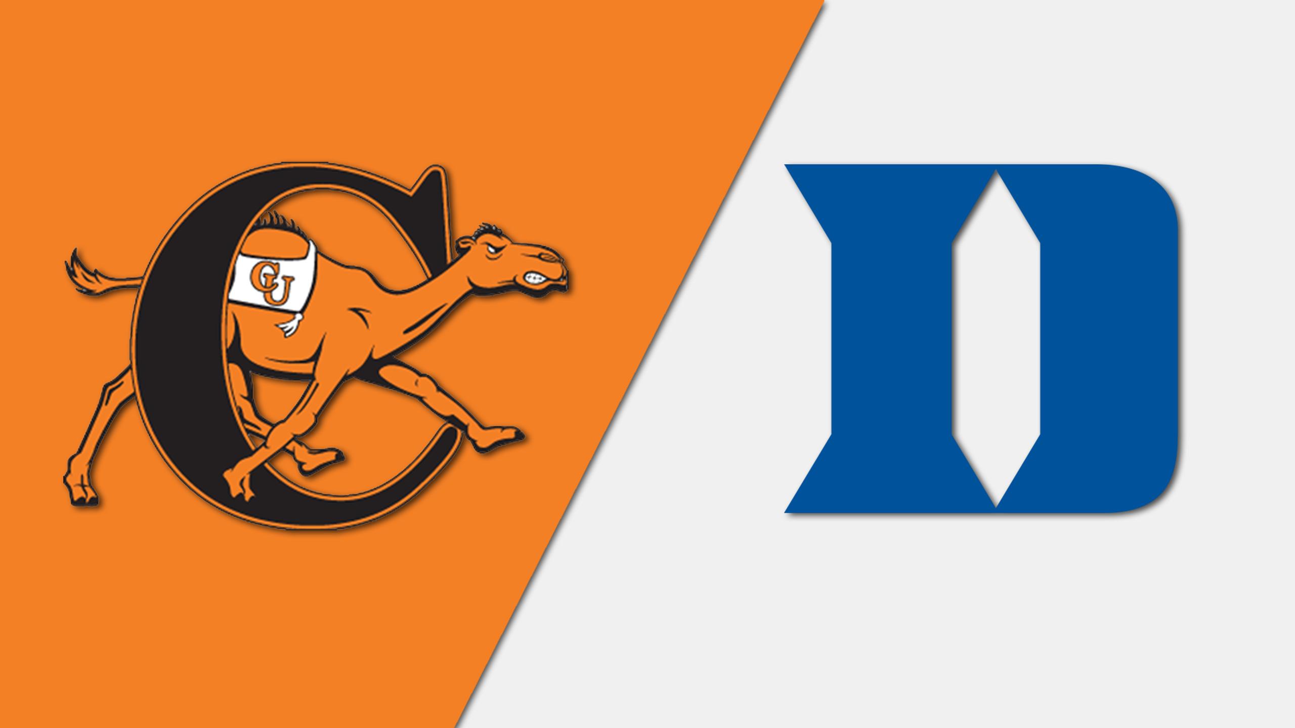 Campbell vs. #17 Duke (M Soccer)