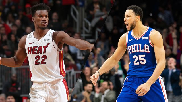 Miami Heat vs. Philadelphia 76ers