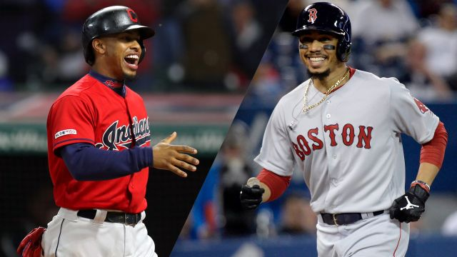 In Spanish-Cleveland Indians vs. Boston Red Sox