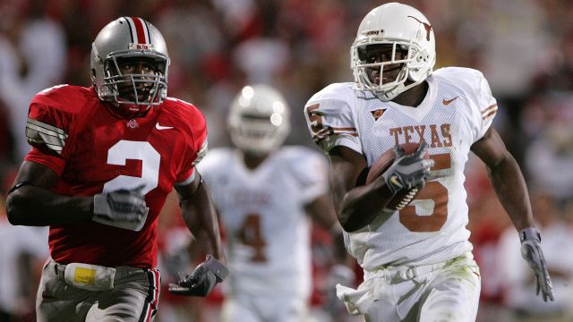 Texas Longhorns vs. Ohio State Buckeyes (re-air)