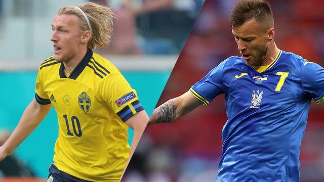 Tue, 6/29 - Sweden vs. Ukraine (Round of 16) UEFA EURO 2020 | Watch ESPN
