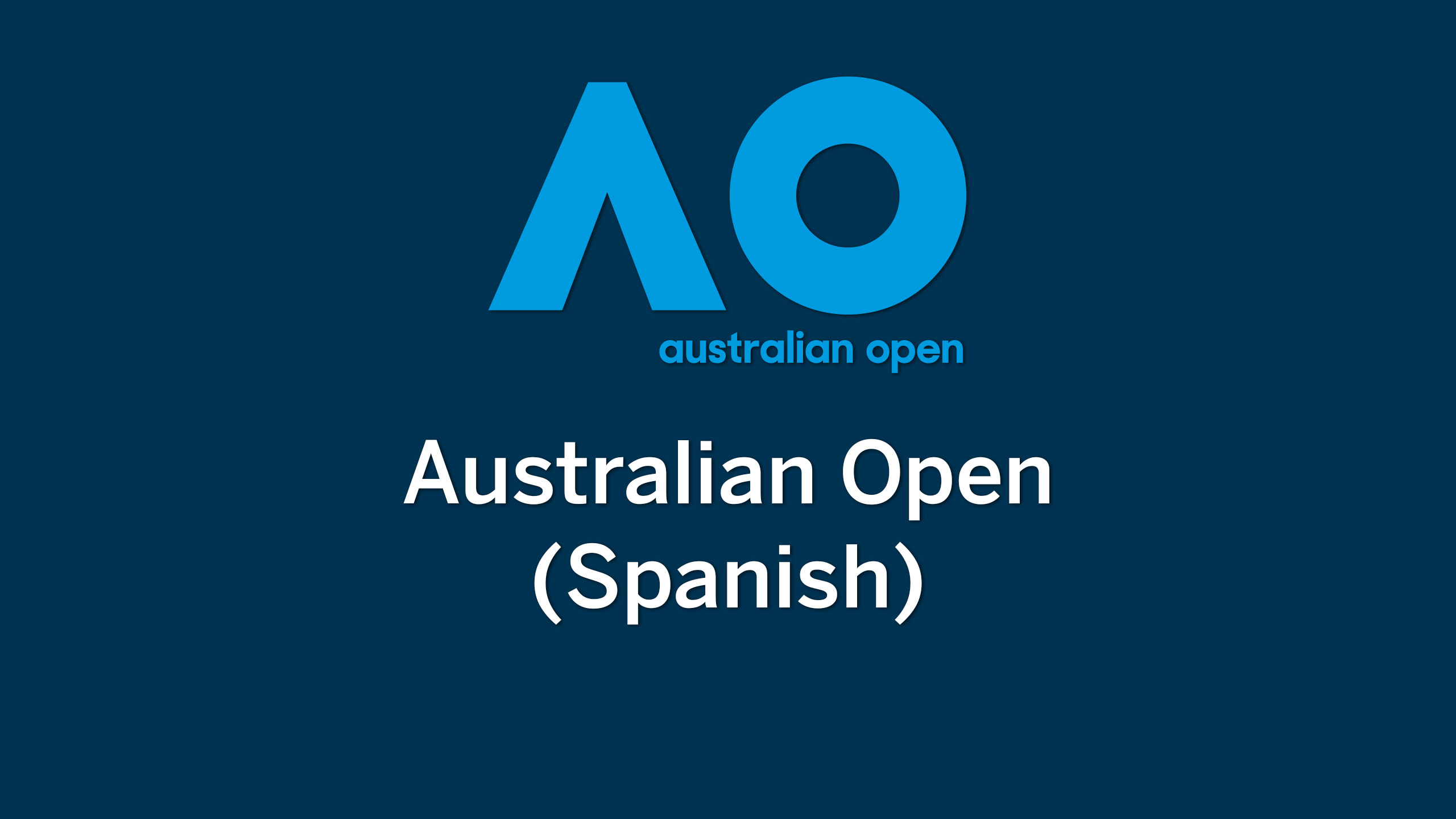 In Spanish - Australian Open Tennis