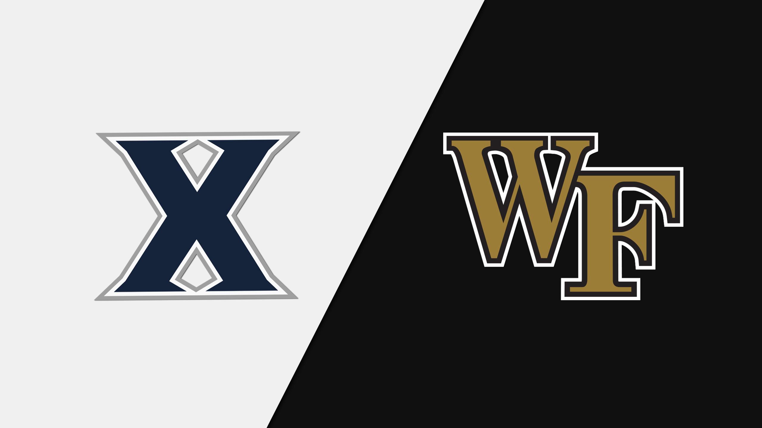 Xavier vs. Wake Forest (W Basketball)