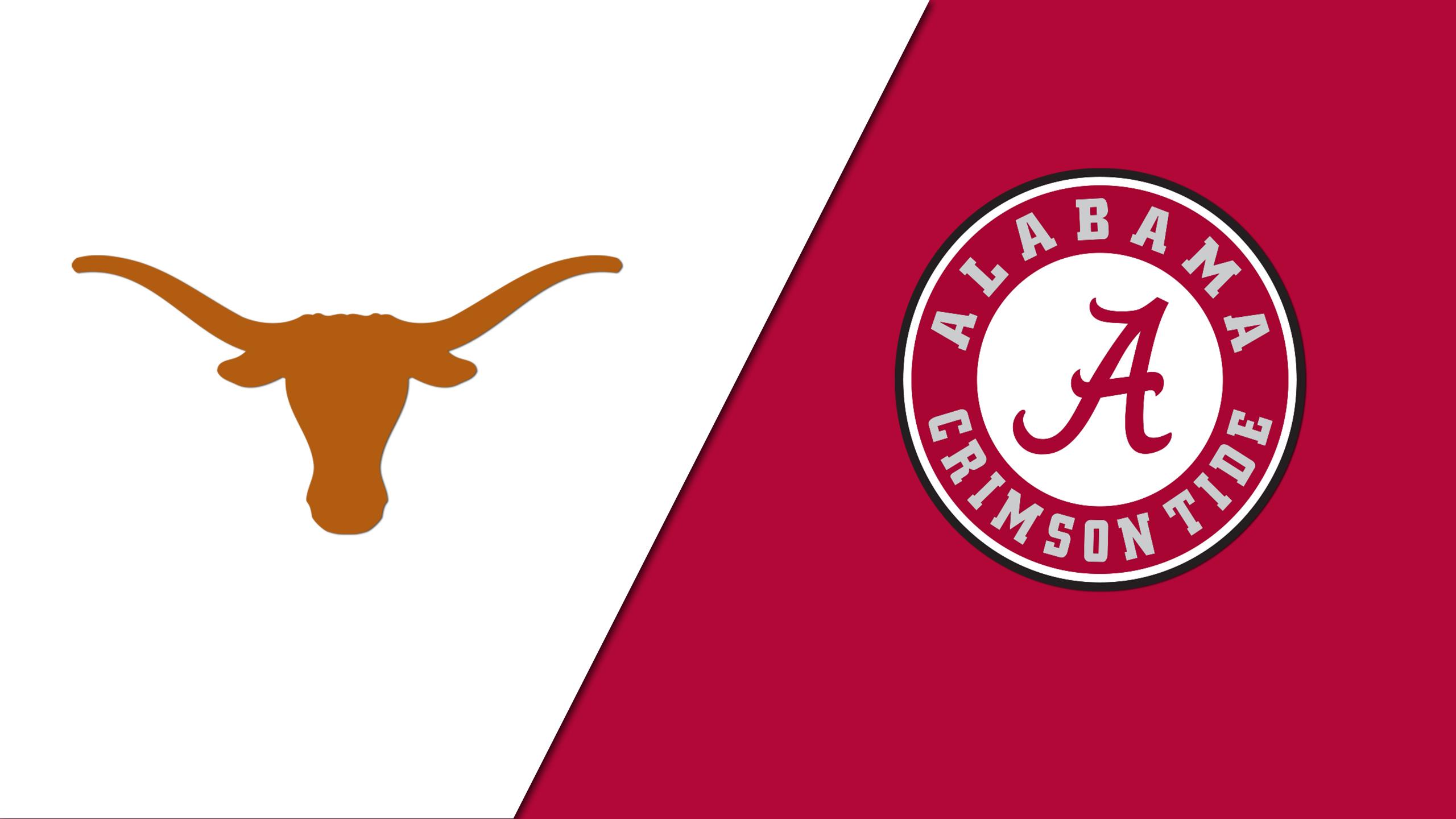 Texas vs. Alabama (Site 2 / Game 1)