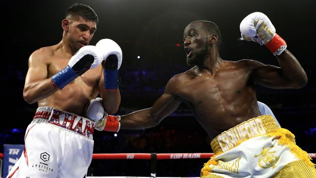 Terence Crawford vs. Amir Khan
