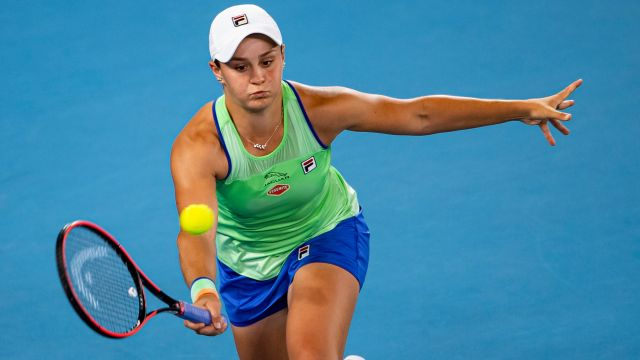 (1) Barty vs. Hercog (Women's Second Round)