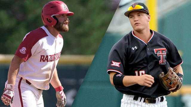#5 Arkansas vs. #8 Texas Tech (Game 5) (College World Series) - ESPN3 Surround