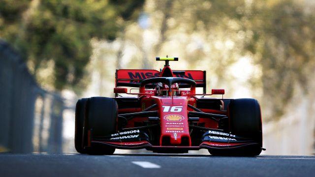 Formula 1 Socar Azerbaijan Grand Prix Practice 2