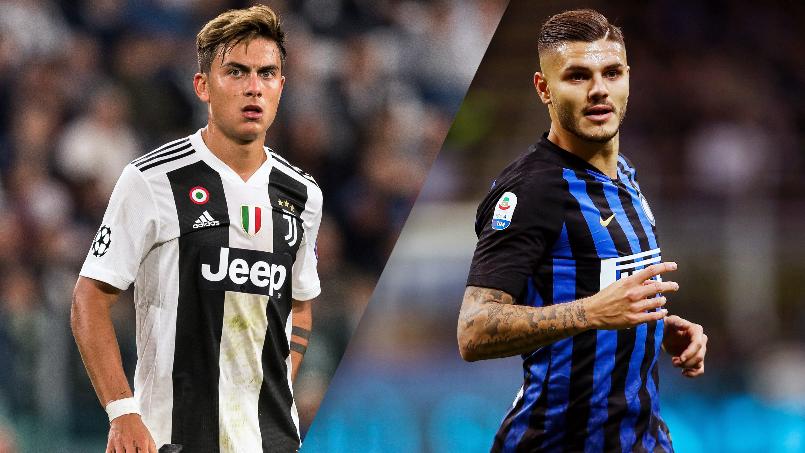 In Spanish - Juventus vs. Inter Milan (Serie A)