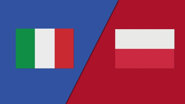 Italy vs. Poland (Group Stage)