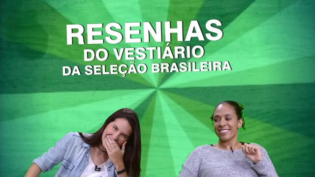Mundial é Delas - 05/06 - Episódio 05: Aline Pellegrino revela 'segredos' do vestiário da seleção brasileira