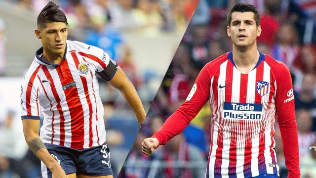 In Spanish-Chivas vs. Atlético Madrid (International Champions Cup)