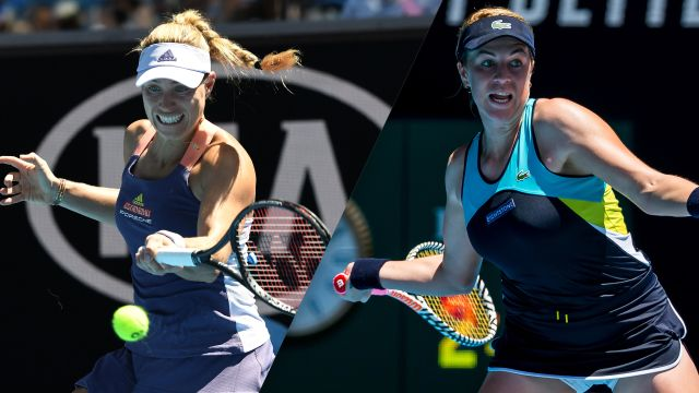 (17) Kerber vs. (30) Pavlyuchenkova (Women's Fourth Round)