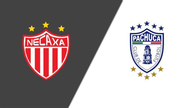 In Spanish-Rayos del Necaxa vs. Tuzos del Pachuca (Jornada 15) (Liga MX)