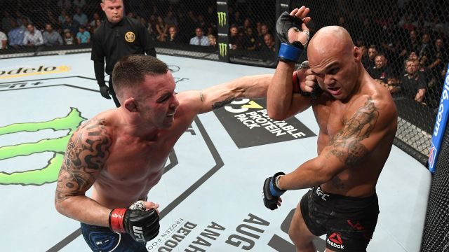 In Spanish-Colby Covington vs. Robbie Lawler