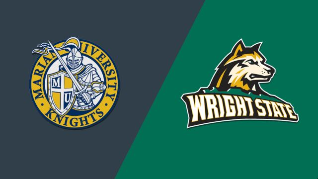 Marian vs. Wright State (W Basketball)