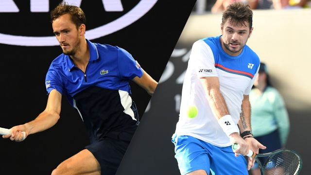 (4) Medvedev vs. (15) Wawrinka (Men's Fourth Round)