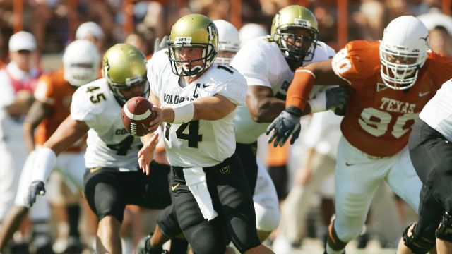 Colorado Buffaloes vs. Texas Longhorns (re-air)