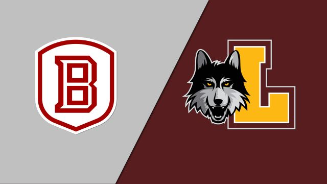 Bradley vs. Loyola Chicago (M Basketball)