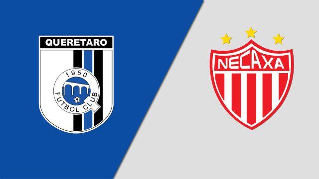 In Spanish-Gallos Blancos de Querétaro vs. Rayos del Necaxa (Jornada 11) (Liga MX)
