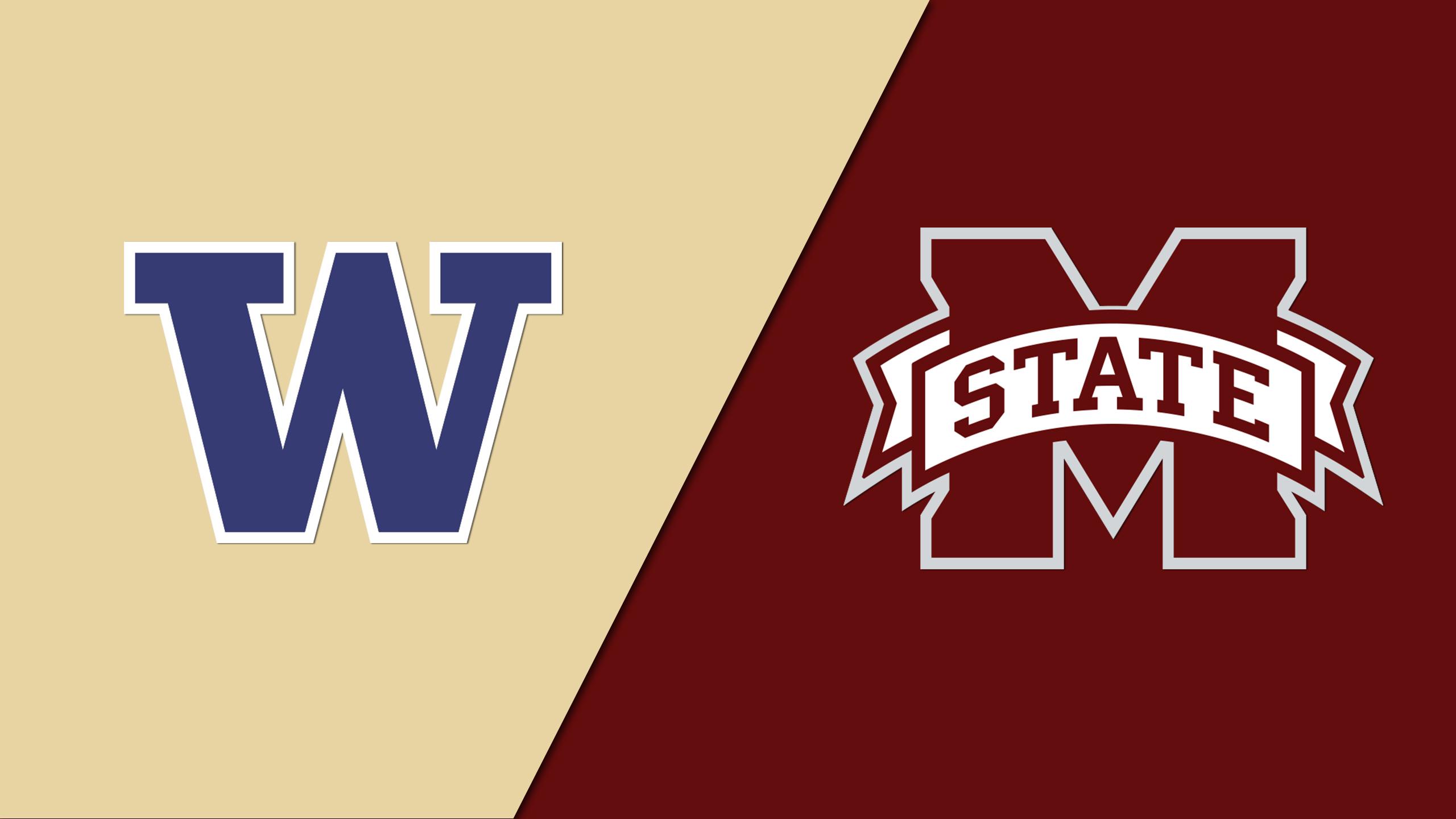 #3 Washington vs. Mississippi State (Site 13 / Game 6) (NCAA Softball Regionals)