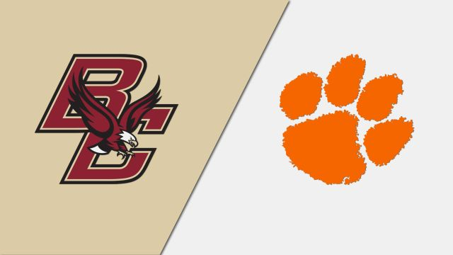 Boston College vs. #3 Clemson (M Soccer)