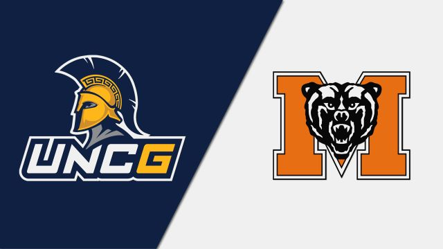 UNC Greensboro vs. Mercer (W Volleyball)