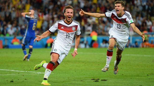 Argentina x Alemanha em 2014