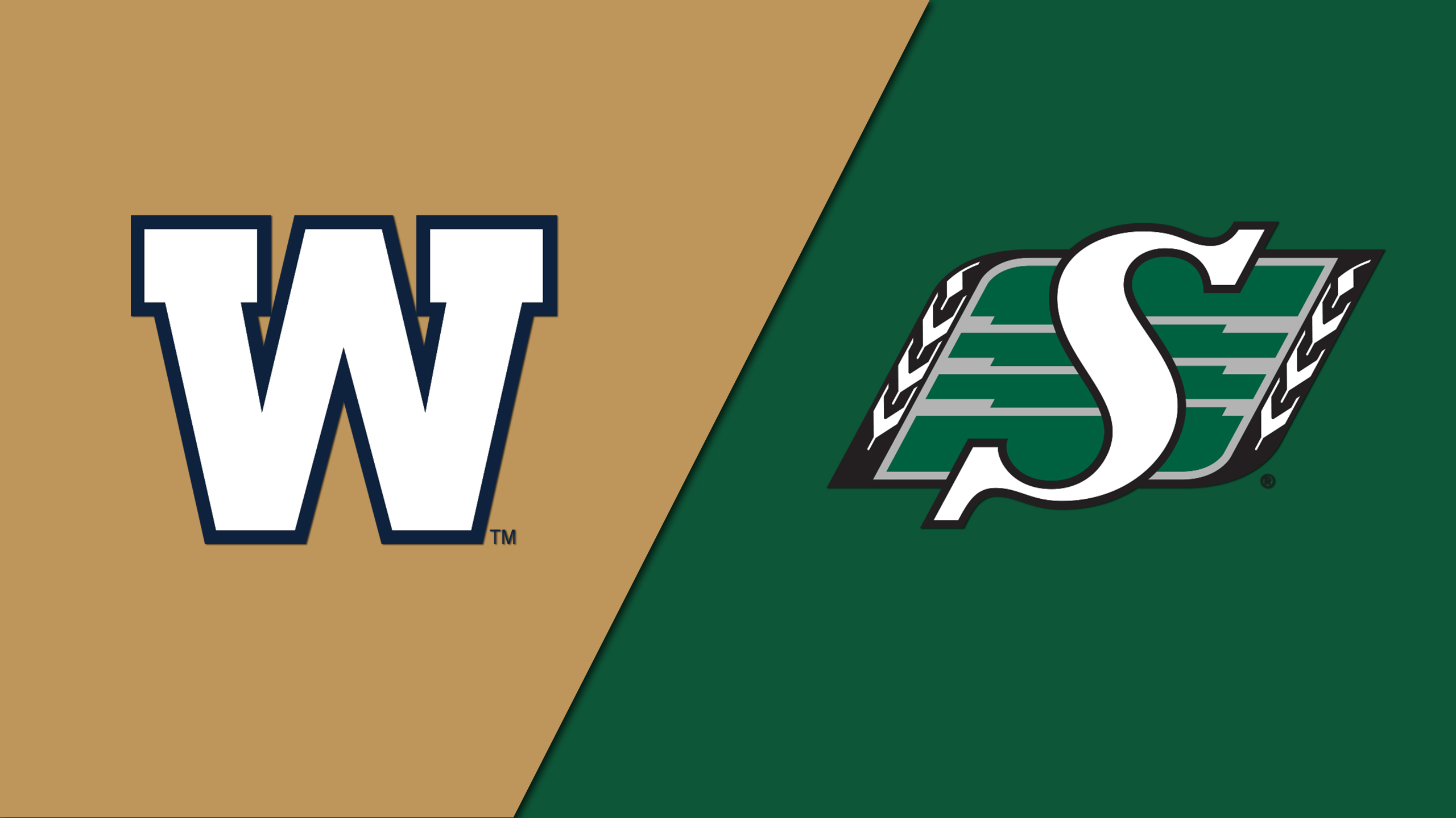 Winnipeg Blue Bombers vs. Saskatchewan Roughriders