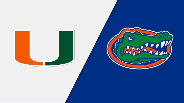 Miami Hurricanes vs. Florida Gators (re-air)