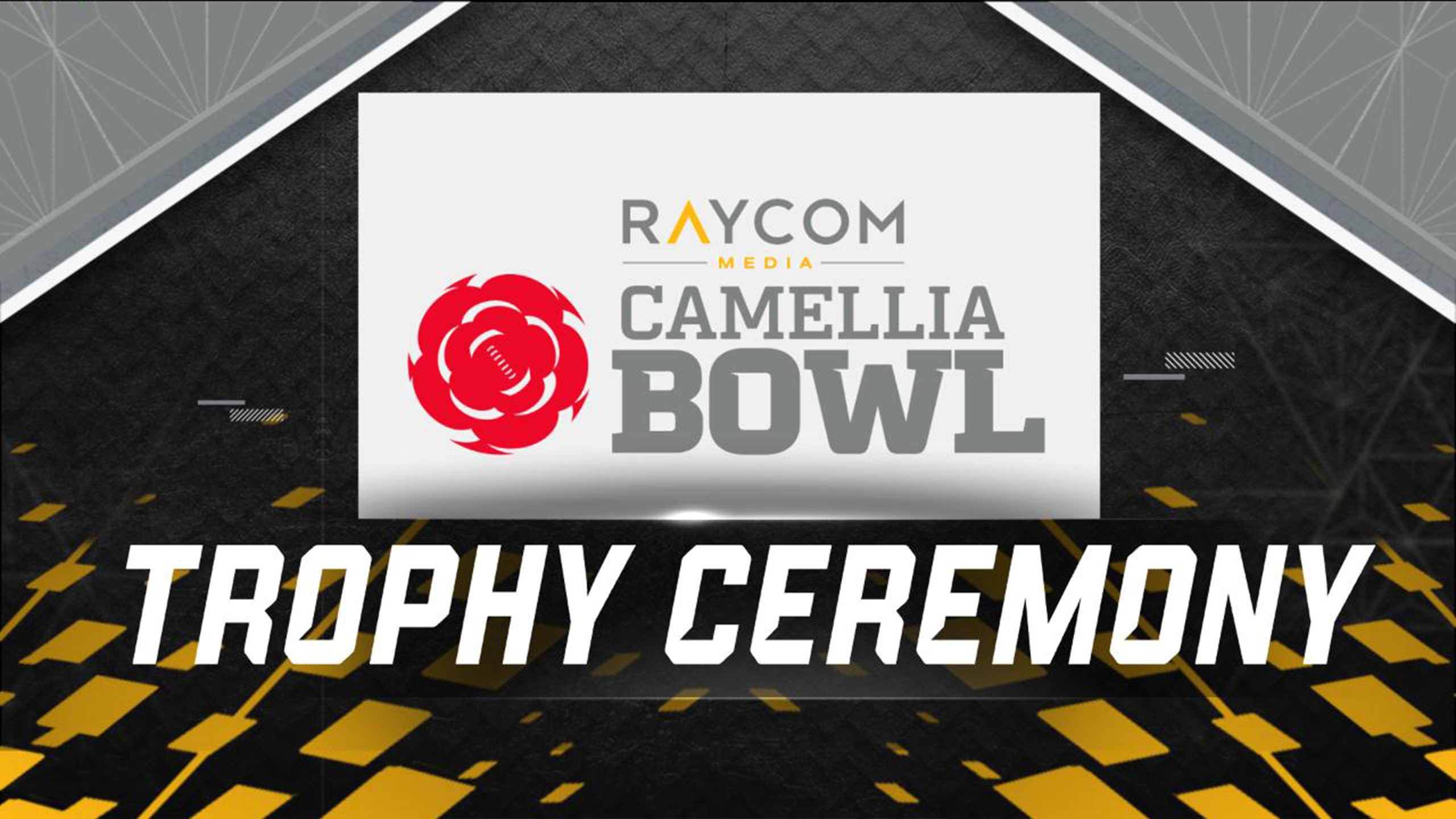 Raycom Media Camellia Bowl Trophy Ceremony Presented by Capital One