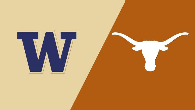 Washington Huskies vs. Texas Longhorns (re-air)