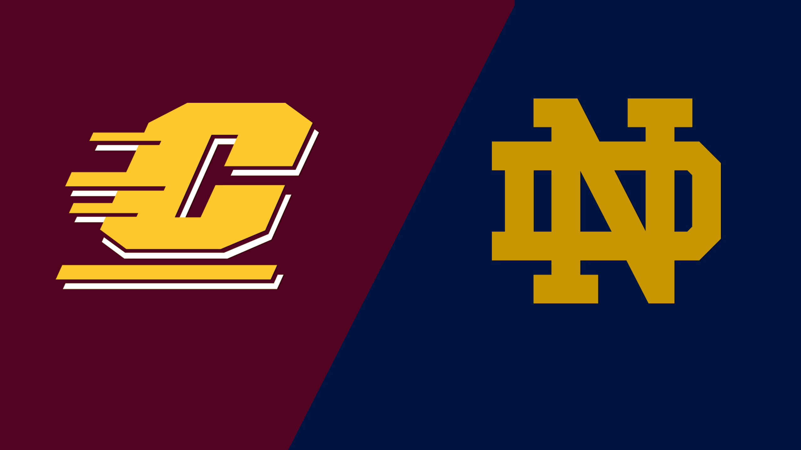 Central Michigan vs. #14 Notre Dame (W Soccer)