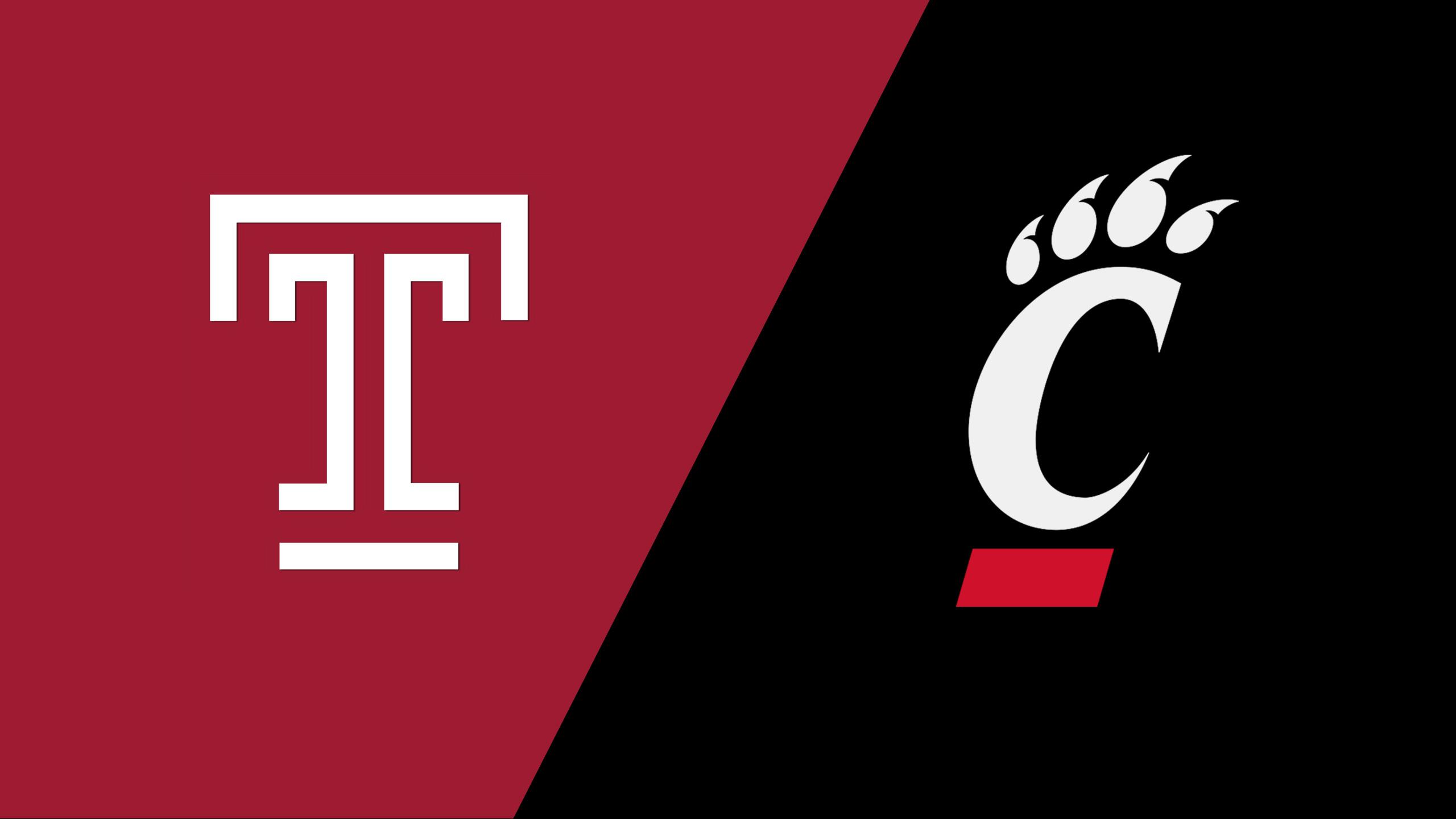 Temple vs. Cincinnati (W Basketball)