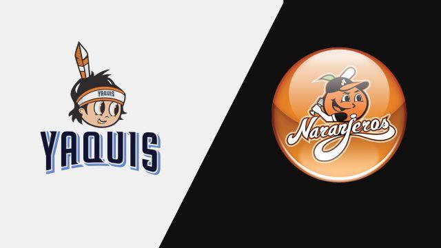 Yaquis de Obregón vs. Naranjeros de Hermosillo (Liga Mexicana del Pacífico)