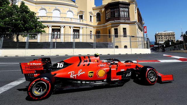 Formula 1 Socar Azerbaijan Grand Prix Qualifying