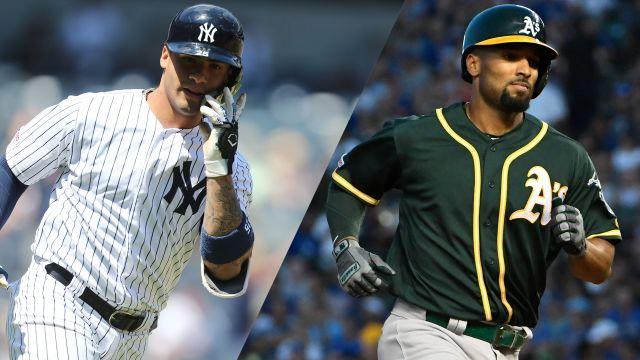 In Spanish-New York Yankees vs. Oakland Athletics