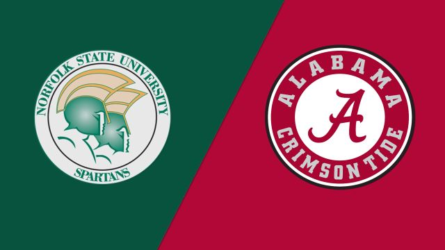 #8 Norfolk State vs. #1 Alabama (First Round) (NIT)