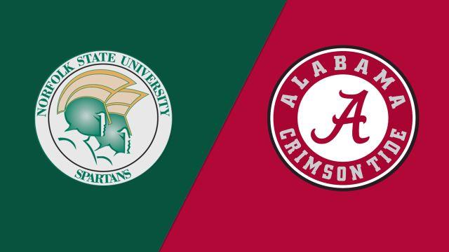 #8 Norfolk State vs. #1 Alabama (First Round) (NIT)