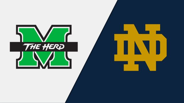 Marshall vs. Notre Dame (M Basketball)