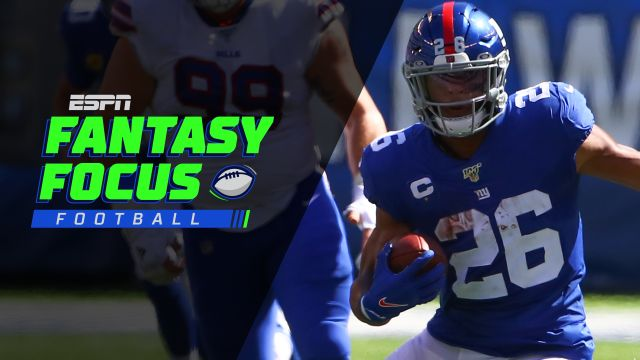 Fantasy Focus Live!: Week 7 preview