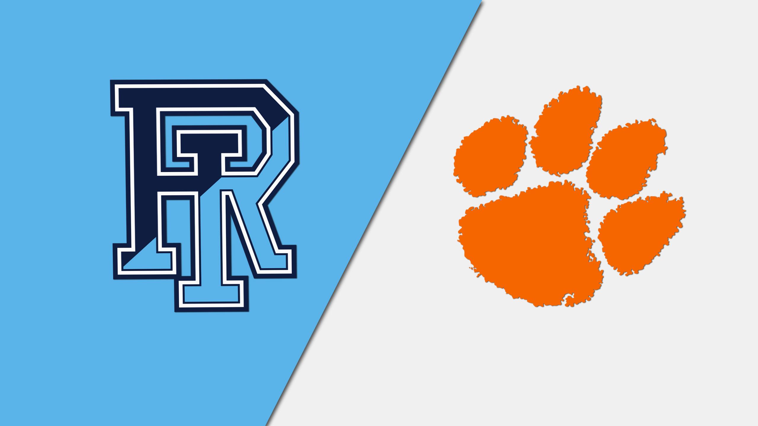 Rhode Island vs. Clemson (W Basketball)