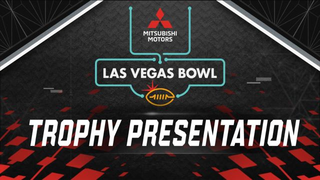 Mitsubishi Motors Las Vegas Bowl Trophy Ceremony (Bowl Game)