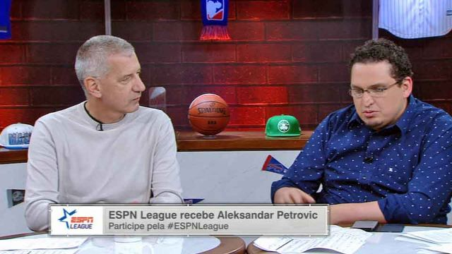 Aleksandar Petrović participa do ESPN League
